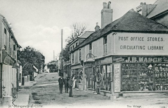 High Street and Madge's Stores. August 1906