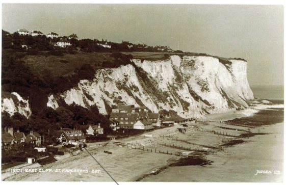 East Cliff, St Margaret's Bay.  c.1936