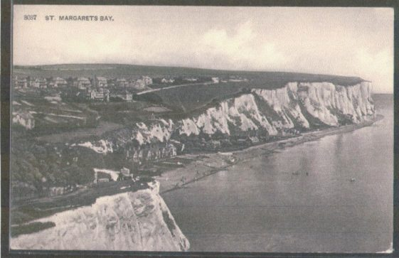 St Margaret's Bay from Ness Point. pre WW2