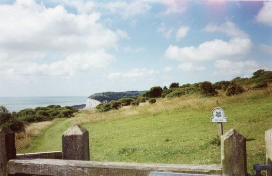Ness Point from Leathercote Point. 2005