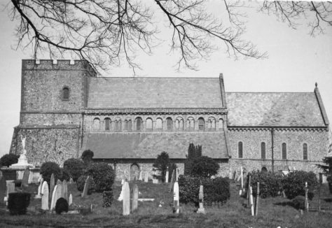St Margaret's Church from the south, 20th century.