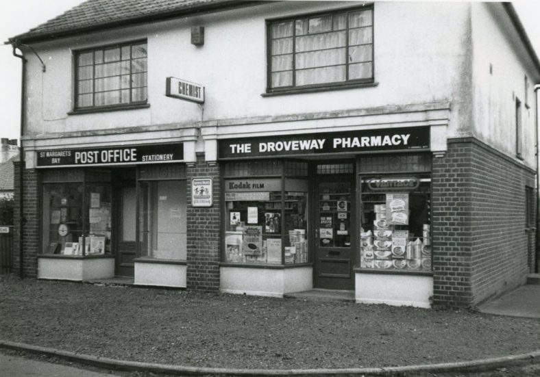 The Droveway Post Office and Pharmacy 1984