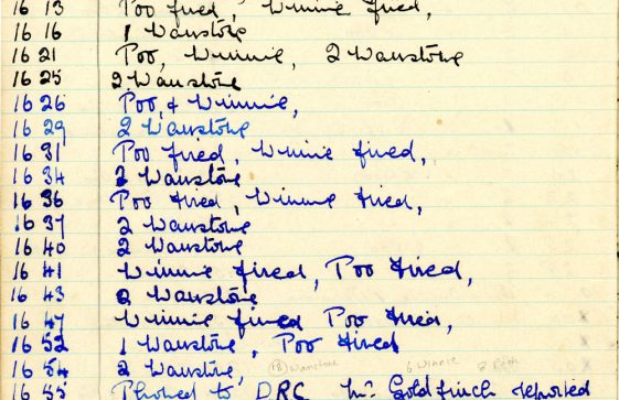 St Margaret's ARP (Air Raid Precautions) Log. Volume 9. 10 August 1944 - 30 June 1945. Pages 40-49