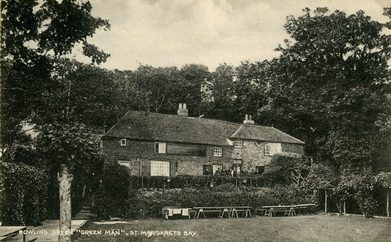 The Green Man from the garden. early 1920's