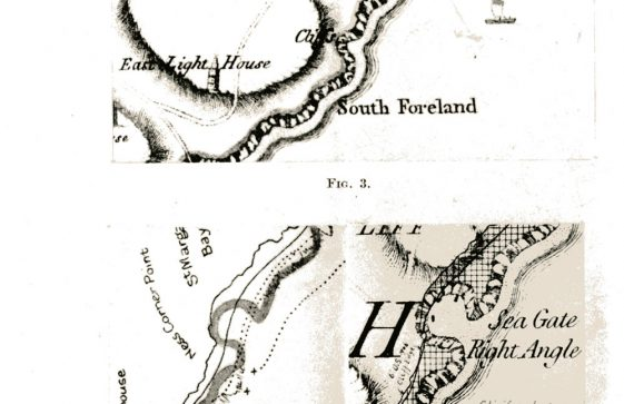 Small maps of St Margaret's Bay. c 1769-1906