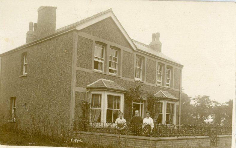 Bockhill House, Chapel Lane. 1905