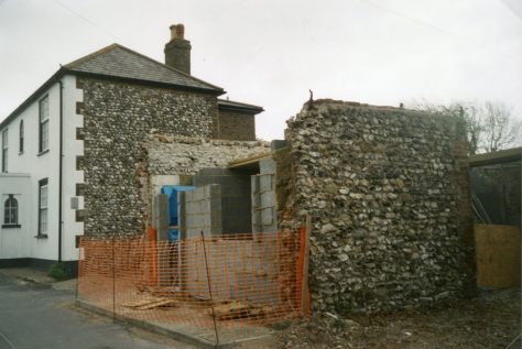 Conversion of a forge building (now No 12) in Kingsdown Road to create a private house. 2003