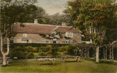 The Green Man in St. Margaret's Bay. c1903/4