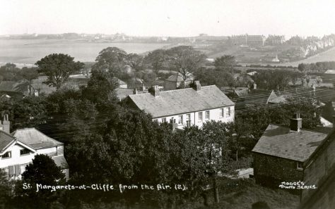 From St Margaret's church tower towards Nelson Park. c1920