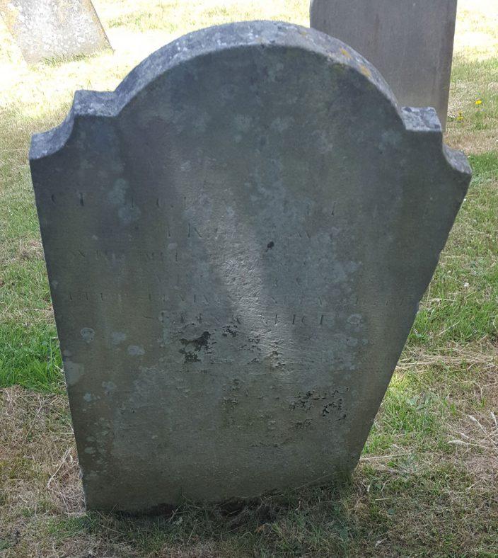Gravestone of ERRIDGE George William 1877   Dawn Sedgwick