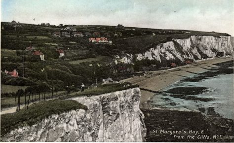 St Margaret's Bay from Ness Point. c1899
