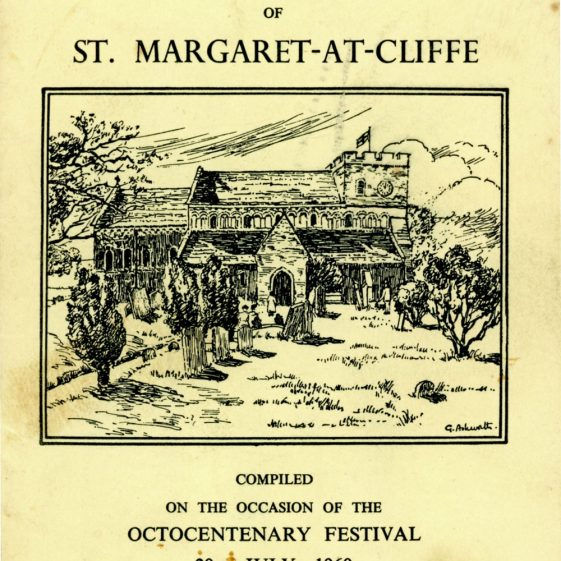 'Story of the Church of St Margaret at Cliffe'. Booklet printed for Octocentenary Festival. 1960