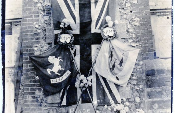 Tribute to WW1 Service Personnel who attended National School, Kingsdown Road