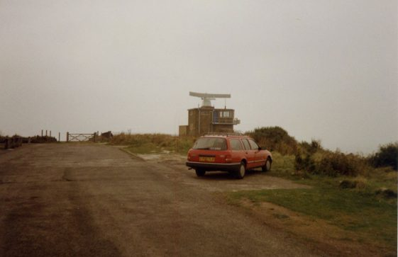 Coastguard Station, Leathercote Point.. 1985