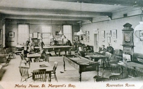 The recreation room at Morley House. pre 1909