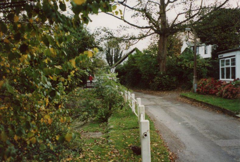 Chapel Lane in Autumn. 2004