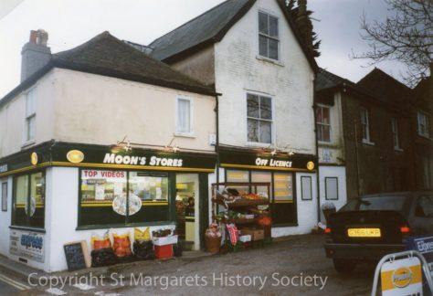 Moon's Stores, High Street.  December 2000