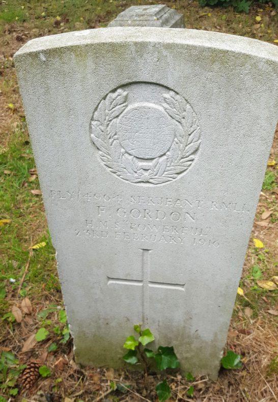 Gravestone of GORDON Frank 1916 | Dawn Sedgwick