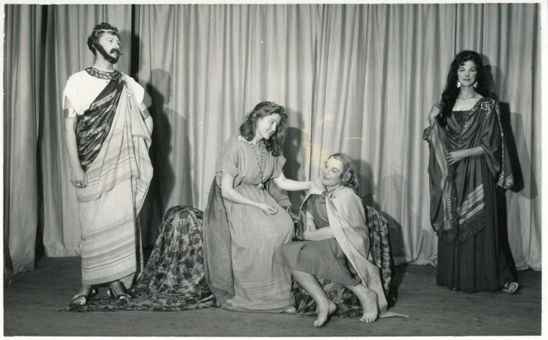 A Scene from 'St. Margaret of Antioch' St Margaret's Players