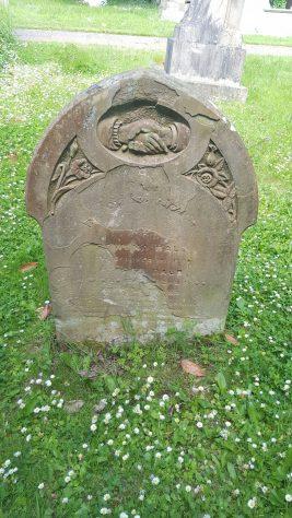 Gravestone of DALE Rowena 1906