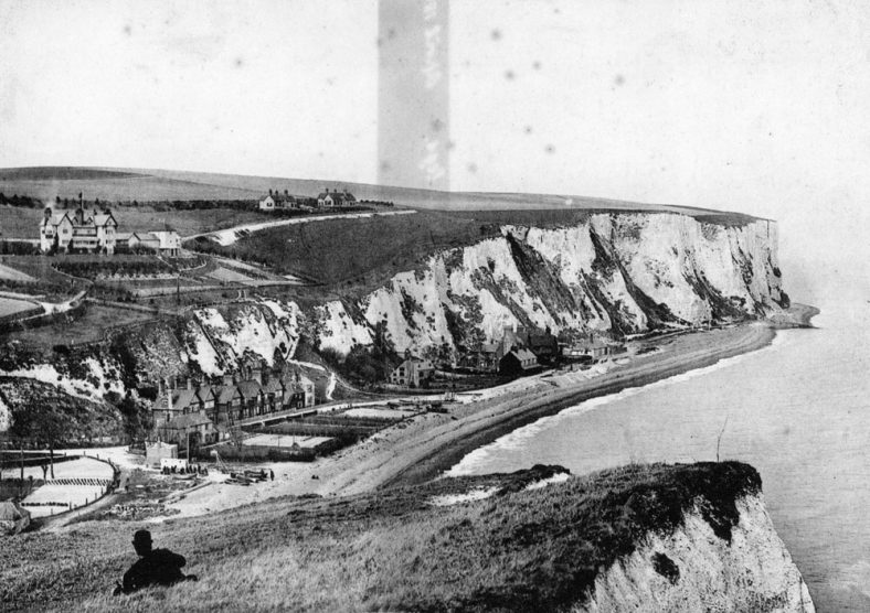 St Margaret's Bay from Ness Point. 1898