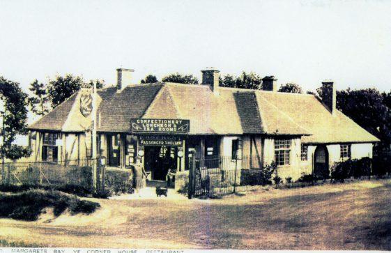 Ye Corner House Restaurant, Bay Hill. c1930