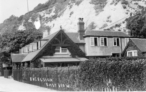 Excelsior Tea Rooms. East View. pre 1921