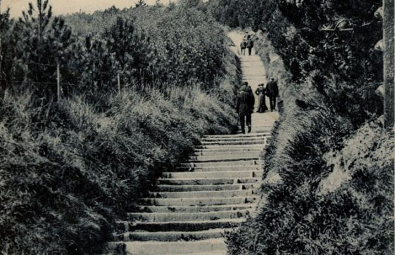 Long Steps up from the Bay. dated 1908