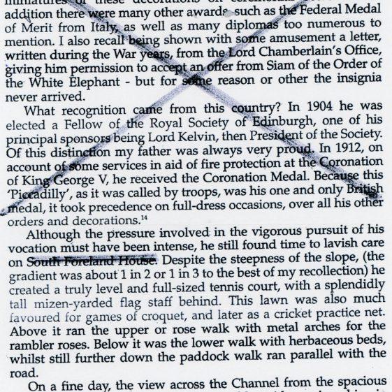 Edwin Sachs, biographical extract