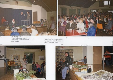Auction of Auctions at the village hall. 23rd May 1986
