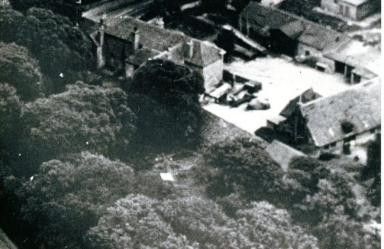 Aerial photograph of Townsend Farm