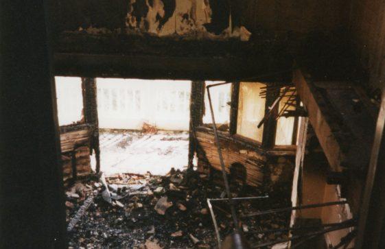 Granville Hotel, Hotel Road, arson attack. 10 March 1995