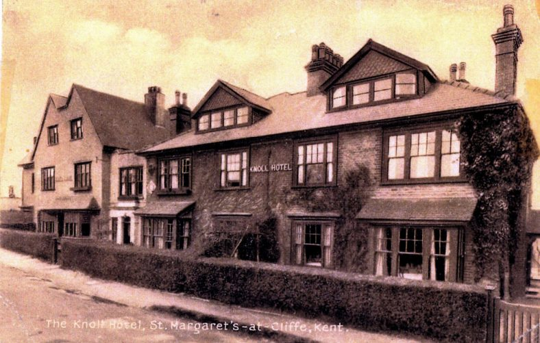 'The Knoll Hotel' in The Droveway converted into flats in 1949.