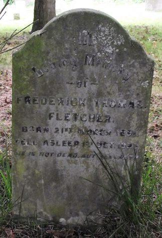 Gravestone of FLETCHER Frederick Thomas 1923