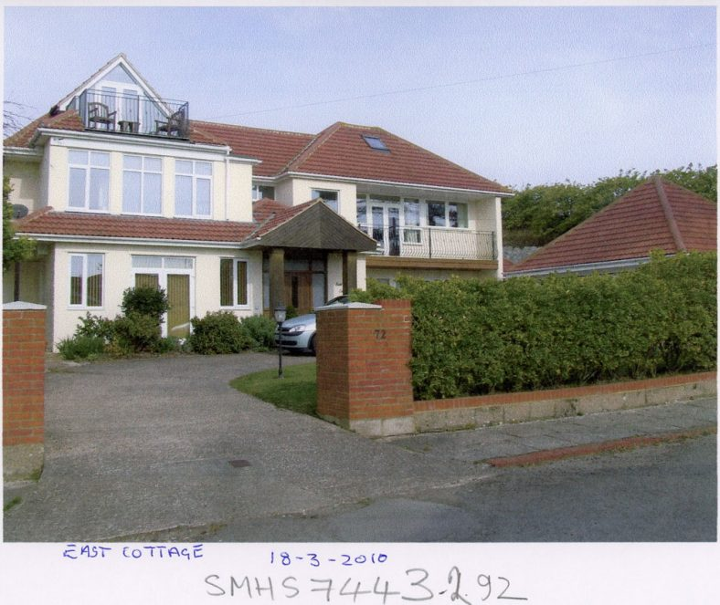'East Cottage', Granville Road after building works. 10 March 2010