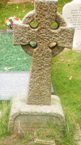 Gravestone of DUX Octavia Amelia 1950