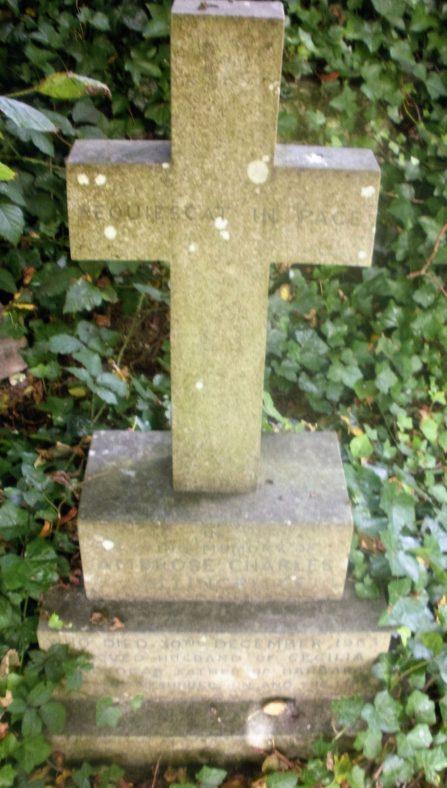 Gravestone of COLLINGRIDGE Ambrose Charles 1963; COLLINGRIDGE Cecilia 1987 | Dawn Sedgwick