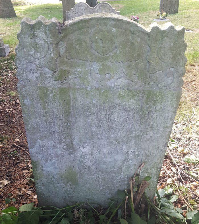 Gravestone of BOWLES Thomas 1758; BOWLES Mary 1761 | Dawn Sedgwick