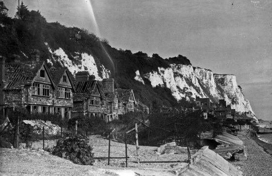 War damaged Village on the Beach. 1947